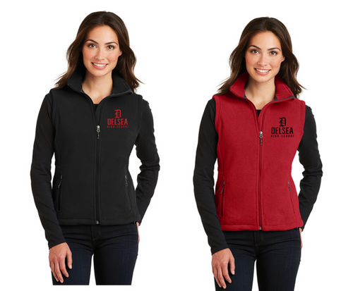 Fleece Vest - Ladies - Delsea Staff