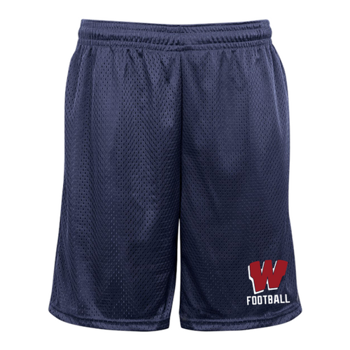 Mesh Pocketed Shorts - Westborough Football