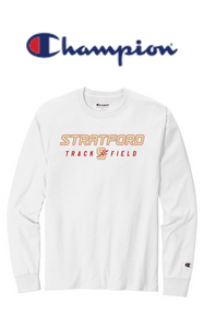 Champion Long Sleeve - Adult - Stratford Track & Field