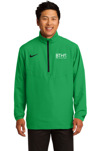 Nike 1/2-Zip Wind Shirt - Brick Staff