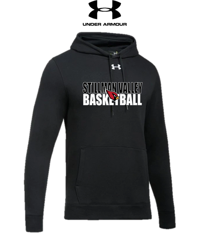 UA Hustle Fleece Hoody - ADULT - Stillman Valley Basketball