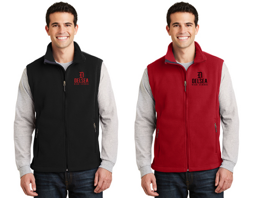 Fleece Vest - Adult - Delsea Staff