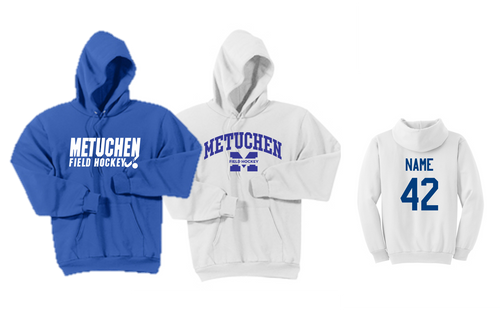 Hooded Sweatshirt - Adult - Metuchen Field Hockey