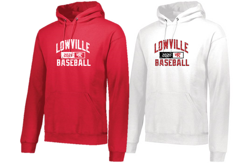 Hooded Sweatshirt - LOWVILLE BASEBALL