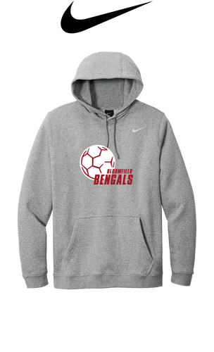 Nike Club Fleece Pullover Hoodie - Bloomfield Girls Soccer
