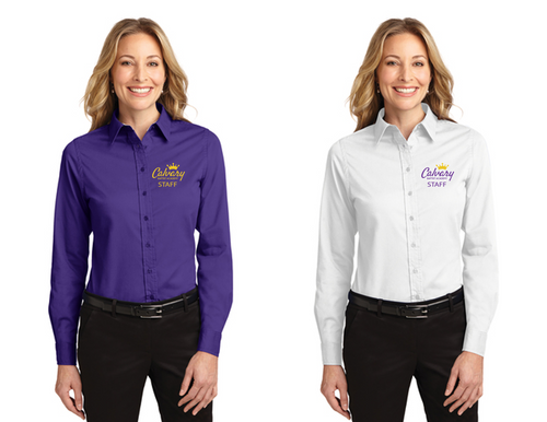 Long Sleeve Easy Care Shirt - LADIES - CBA Staff