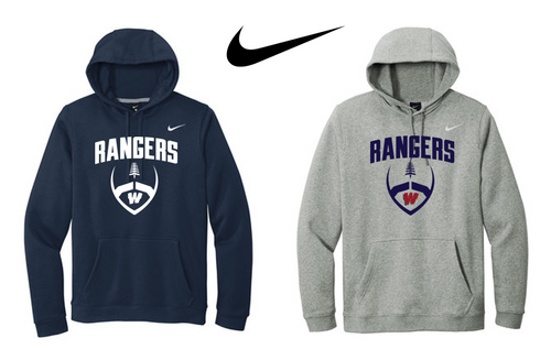 Nike Club Fleece Pullover Hoodie - Westborough Football