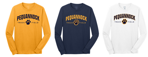Adult Team Long Sleeve - Pequannock Track & Field