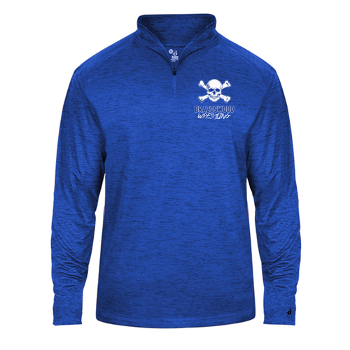Lightweight Tonal Blend 1/4 Zip - Brazoswood Wrestling