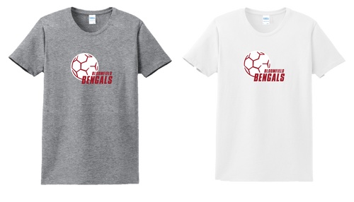 Ladies Fan Tee - Bloomfield Girls Soccer