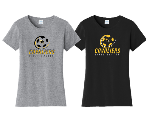 Ladies Fan Favorite Tee - South Carroll Girls Soccer