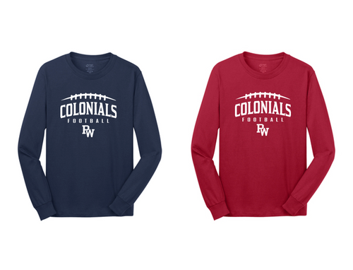 Cotton Long Sleeve - Adult - PW Football