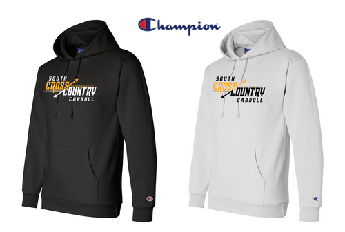 Champion Double Dry Eco Hooded Sweatshirt - South Carroll XC
