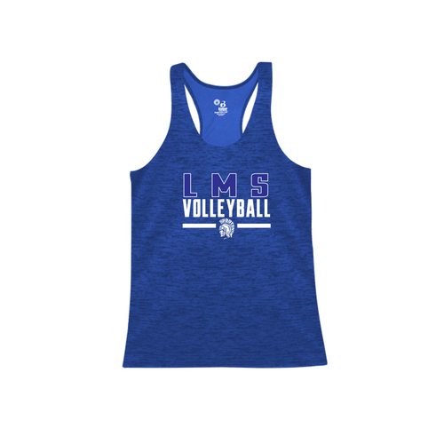 TONAL BLEND RACERBACK TANK - Lewis Mills Volleyball