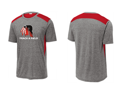 Men's Tri-Blend Wicking Draft Tee - Rahway Outdoor Track & Field