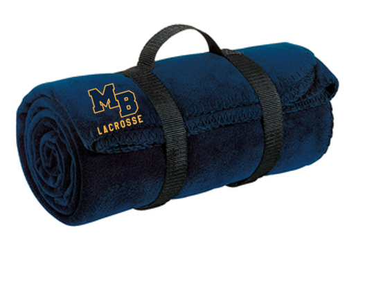 *Fleece Blanket with Strap - Mt Bethel Lacrosse