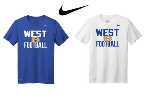 Nike Adult Legend Tee - Downingtown West Football