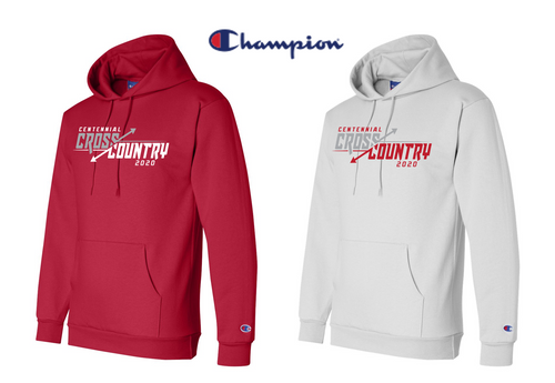 Champion Double Dry Eco Hooded Sweatshirt - Centennial XC