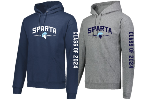 "Hooded Sweatshirt ""Class of 2024"" - Sparta Class of 2024"