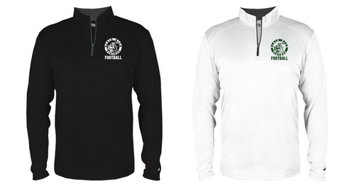 B Core Lightweight 1/4 Zip - Adult - Blair Football