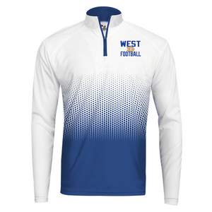 HEX 1/4 ZIP - Downingtown West Football