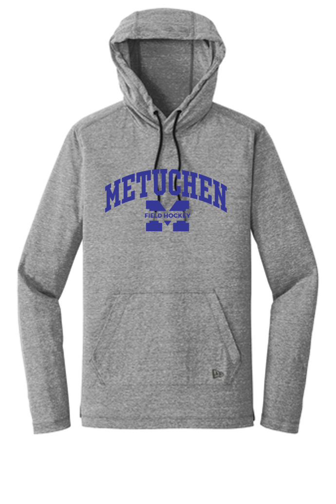 Adult Light Pullover Hoodie Tee - Metuchen Field Hockey