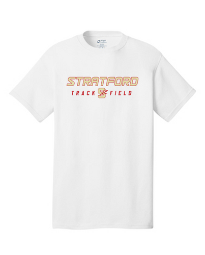 Cotton Tee - Adult - Stratford Track & Field