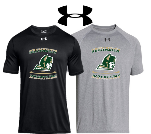 UA Locker Tee 2.0 - Adult - Elk Grove Wrestling