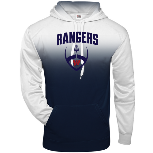 OMBRE HOODIE - Westborough Football
