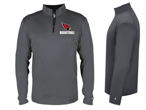 B-Core Lightweight 1/4 Zip - Adult - Stillman Valley Basketball