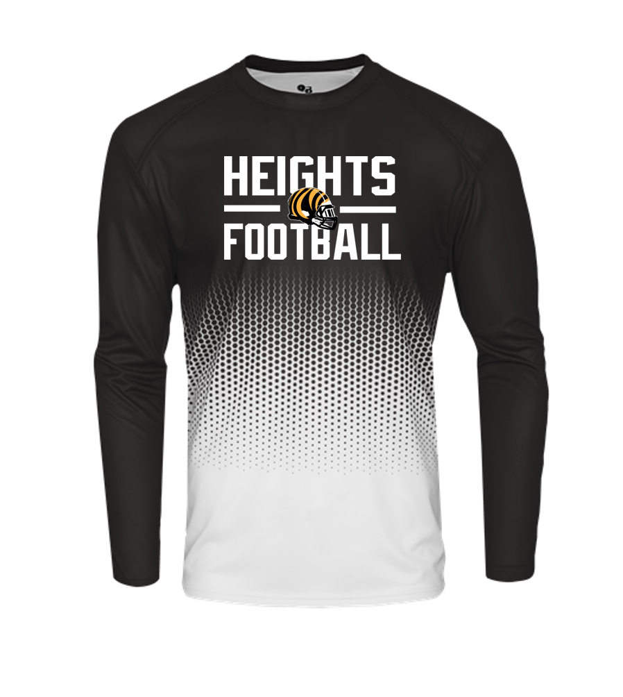 HEX LONG SLEEVE - Cleveland Heights Football