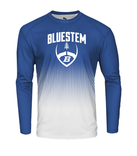 HEX LONG SLEEVE - Bluestem Football