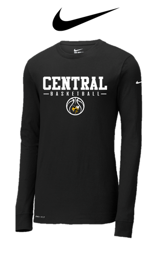 Nike DRI-FIT Long Sleeve - Central (Louisville) Basketball