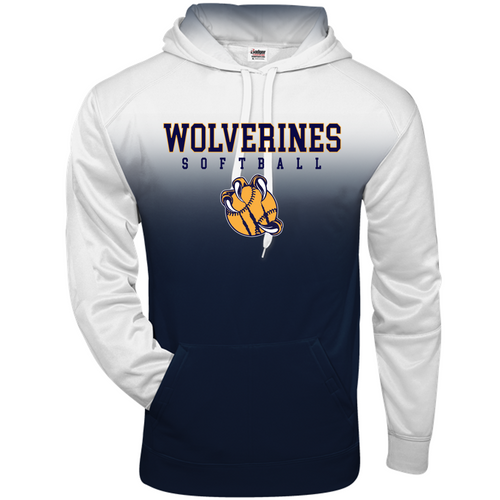 OMBRE HOODIE - Adult - Godwin Heights Softball