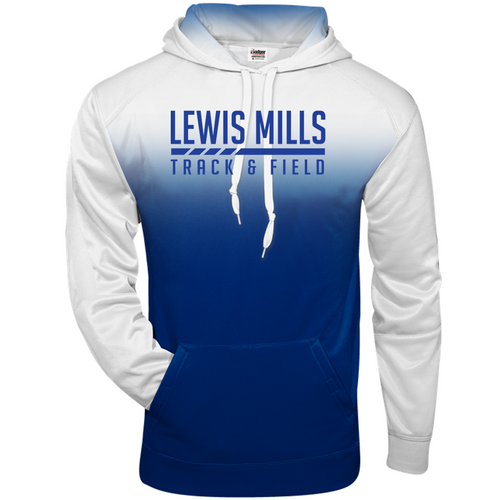OMBRE HOODIE - Adult - Lewis Mills Track
