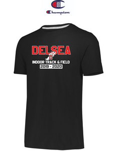 Champion Adult Short-Sleeve T-Shirt - Delsea Indoor Track