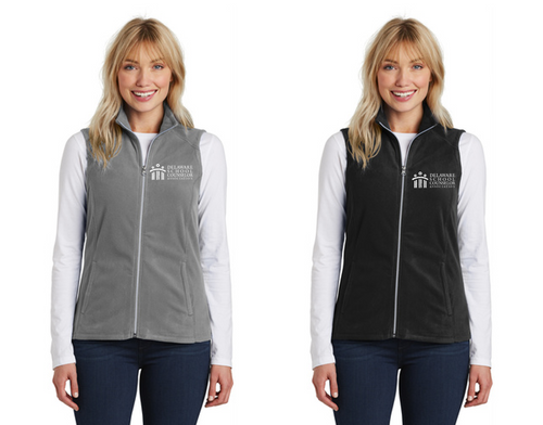 *Ladies Microfleece Vest - DSCA