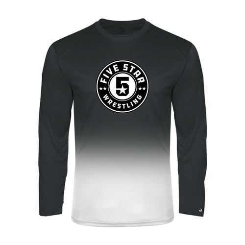 Ombre Performance Long Sleeve (Adult/Youth Sizes) - Five Star Wrestling