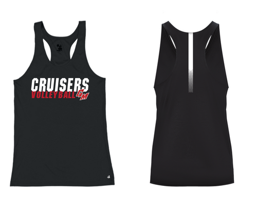 Ladies Sidline Racerback Tank - GM Volleyball