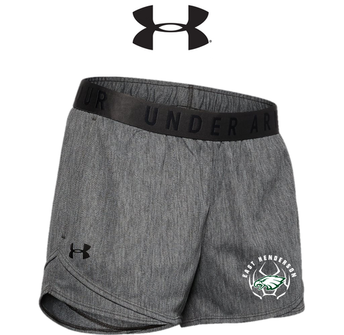 UA Ladies Play Up Shorts 3.0 Twist - East Henderson Girls Soccer