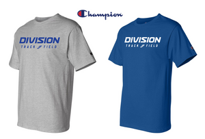 Champion Short Sleeve Tee - Adult - DIVISION TRACK