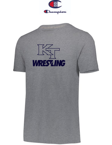 Champion Adult Short-Sleeve T-Shirt - Keefe Tech Wrestling