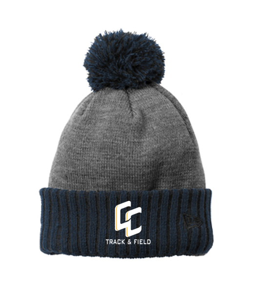 *Colorblock Cuffed Beanie - Central Catholic Track & Field
