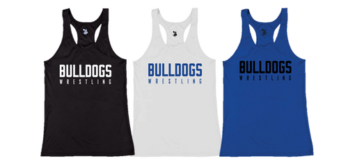 Ladies B-Core Tank (Adult/Youth Sizes) - Bulldogs Wrestling