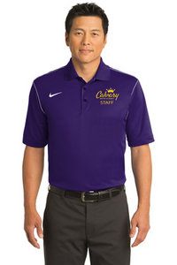 Nike Dri-FIT Sport Swoosh Pique Polo - CBA Staff