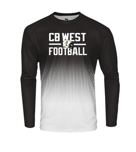 HEX LONG SLEEVE - CB WEST FOOTBALL