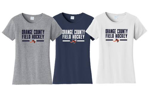 Ladies Fan Favorite Tee - Orange County Field Hockey