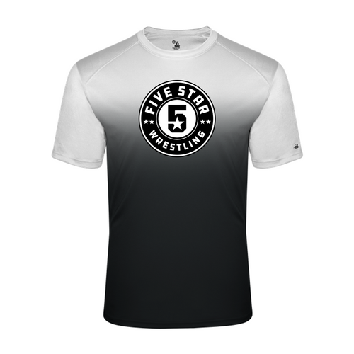 Ombre Performance Tee (Adult/Youth Sizes) - Five Star Wrestling