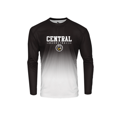 Hex Long Sleeve - Central (Louisville) Basketball
