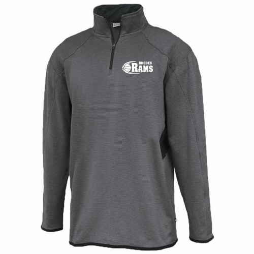shadow 1/4 zip - RHODES RAMS BASKETBALL